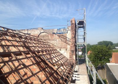 Jack-op lofts Werchter dakwerken