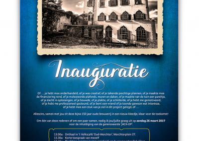 Uitnodiging Inauguratie Jack-Op lofts Werchter