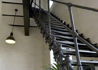 Jack-op lofts Werchter trappen met lamp