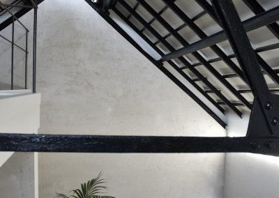 Jack-op lofts Werchter dak
