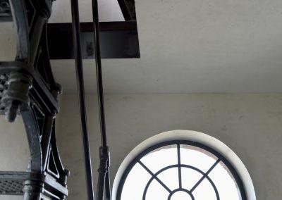 Jack-op lofts Werchter trap en raam